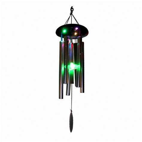 78cm classic solar light wind chime zen sounds