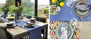 Chemin De Table Design : d coration table de f te en 75 belles images ~ Teatrodelosmanantiales.com Idées de Décoration