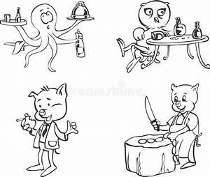 White Pig Stock Illustrations  U2013 39 692 White Pig Stock