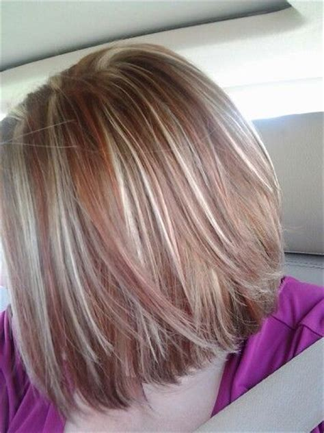 Red Highlights In Dirty Blonde Hair New Bedroom Ideas