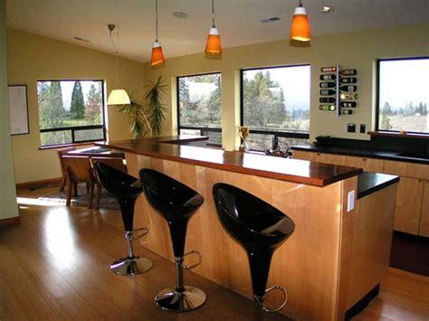 bar in kitchen ideas kitchen breakfast bar ideas the kitchen design