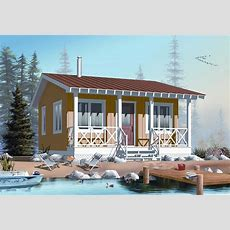 20x20 Tiny House Cabin Plan  400 Sq Ft #1261022