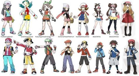 The Evolution of Pokémon Style and Fashion   The Mary Sue