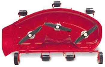vermont toro classic series 42 inch side discharge mower deck