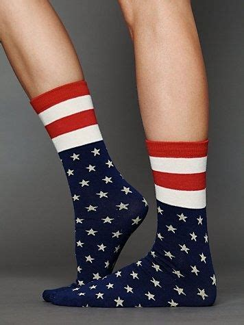 American Flag Socks