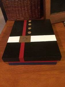 Usmc custom wooden rank insignia plaque usmc retirement for Marine letter box