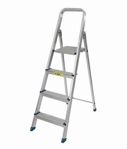Ladder Aluminium Folding Aluminum Pro Step Feet