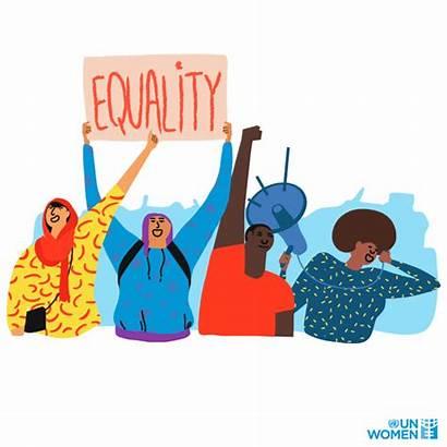 Equality Gender Equal Rights Power Speak Together