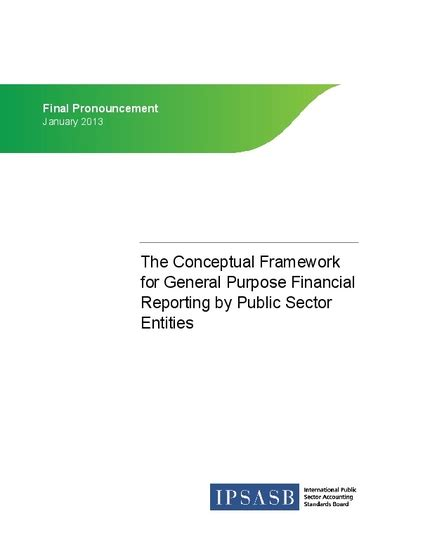 conceptual framework  general purpose financial