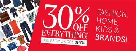 The Hub » 30% Off Everything! Fashion, Home, Kids & Brands