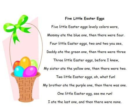 easter recitations for preschool poems for children and easter poems songs 680