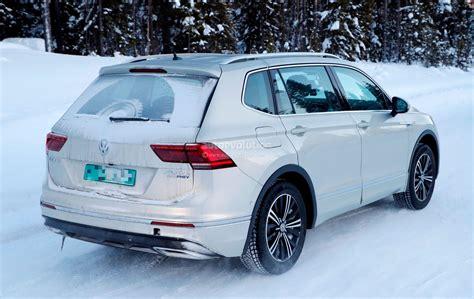 Spyshots 2019 Volkswagen Tiguan Gte Has Tiguan L 430 Phev