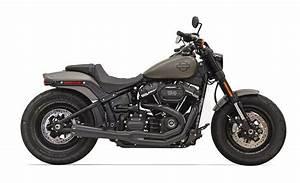 Harley Fat Bob 2018 : bassani road rage 2 into 1 exhaust for harley softail fat ~ Kayakingforconservation.com Haus und Dekorationen