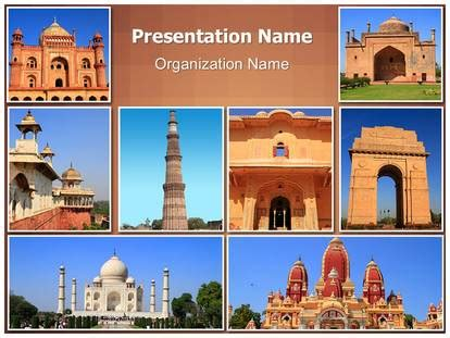 travel collage templates india travel collage powerpoint template background