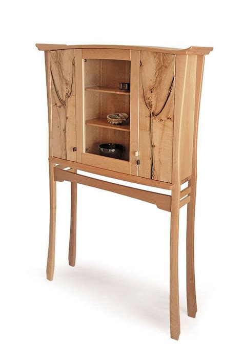 ingrown cabinet  stand krenov style cabinets