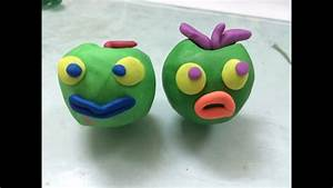 Clay art for kids | How to make clay apple for kids | Play ...