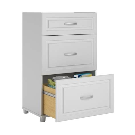 system build storage cabinet systembuild 3 drawer white aquaseal storage cabinet ebay