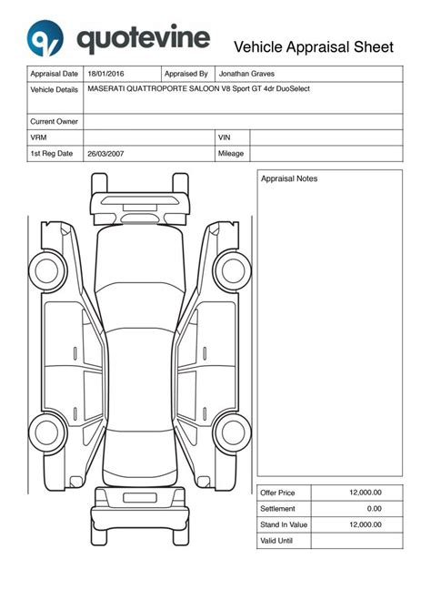 Image Result For Car Detail Checklist Detailing