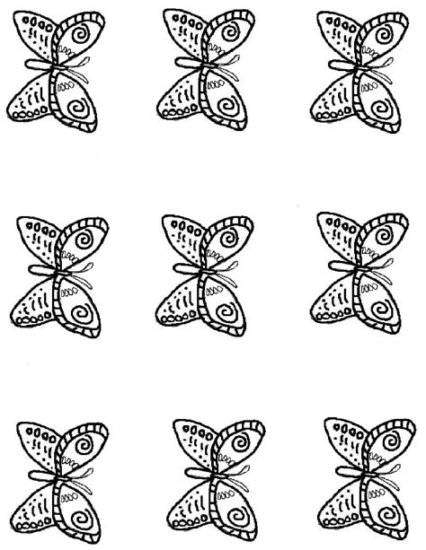 born  butterfly magnet craft