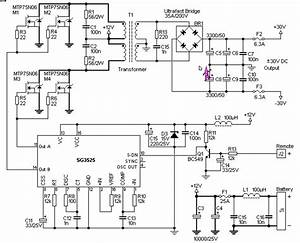 Wiring Diagram For Car  12v To 30v Dc To Dc Converter