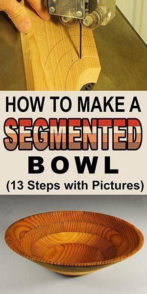 segmented bowl woodturning project
