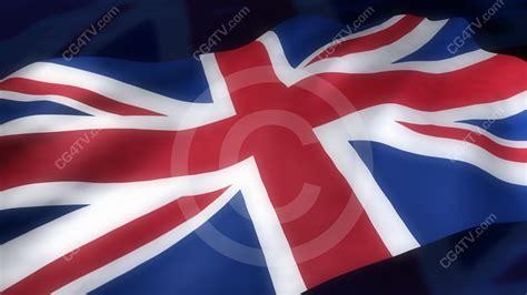 English Flag 3d Animation Cg4tvcom