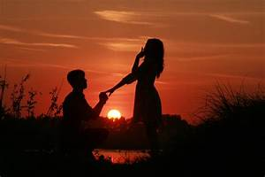 15+ Pictures of Love Couples at Sunset, Couple Sunset ...
