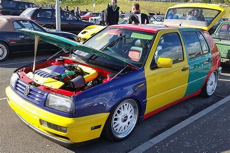 volkswagen harlequin bangshift com volkswagen golf harlequin edition