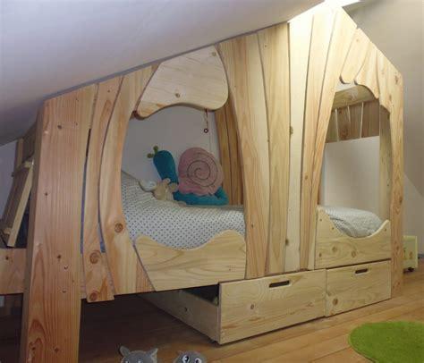 chambre bien ranger lit cabane bois massif enfant sequoia abra ma cabane