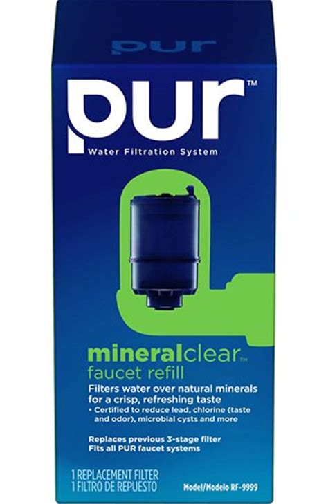 pur faucet mount mineral clear replacement filter 3 pack