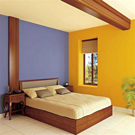 wall paint combination  bedroom image home decorating ideas