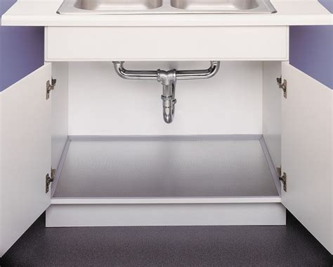 Perfect Under Sink Cabinet Liner On Xtreme Mats Under Sink