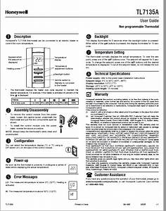 Honeywell Tl7135a User Manual