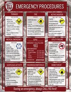 Emergency Procedures Grid  Education  Protect Iu  Indiana