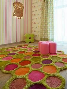 99 interieurs magnifiques avec tapis shaggy design a poil long With tapis chambre enfant avec canapé modulable design
