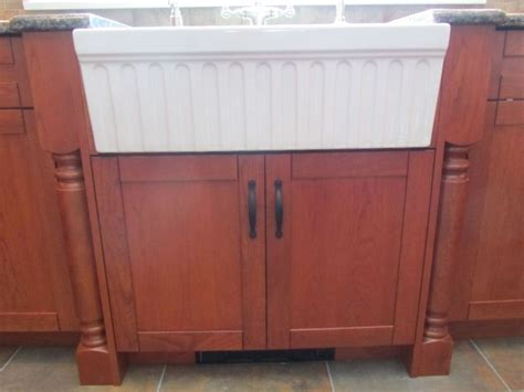 Farm Sink Cabinet by Cabinetry For Farmhouse Sinks