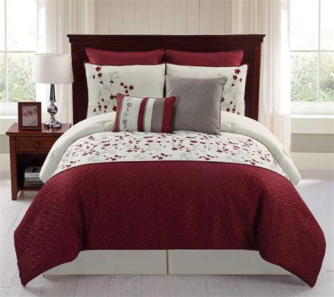 8 piece embroidered comforter set sadie