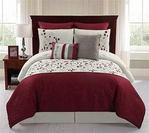 8-Piece Embroidered Comforter Set - Sadie