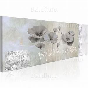 Wandbilder Grau Weiss : wandbilder xxl mohn wie gemalt leinwand bilder kunstdruck silber grau 0107 6 ebay ~ Sanjose-hotels-ca.com Haus und Dekorationen