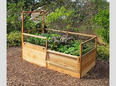 3x6 Elevated Raised Bed with Fencing Raised bed, Fences