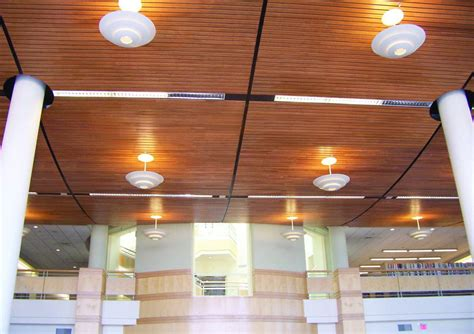 Suspended Wood Ceiling by Wood Ceiling K 246 Pr 252