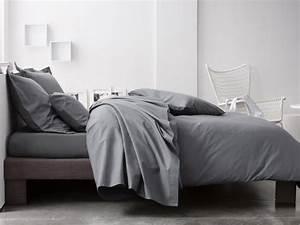 une chambre a la deco grise joli place With idee deco chambre grise