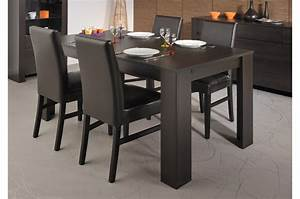 table salle a manger wenge With salle a manger wenge conforama