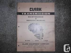 Clark Hr 28000 Series 4 Spd Power Shift Transmission Shop