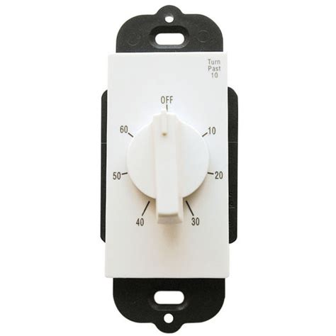bathroom fan delay timer timers and controls rotary 60 minute delay timer wall