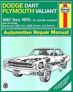 Dodge Dart  Plymouth Valiant Repair Manual 1967