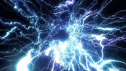 Synapse Brain Electric Gifs Neurons Pulsing Veins