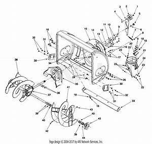 Mtd 31ae640f352  1999  Parts Diagram For Blower Housing