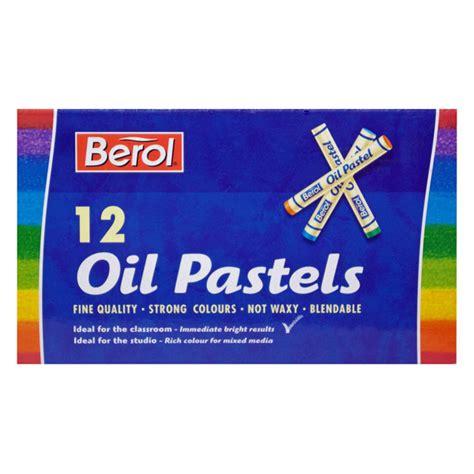 Kreativitas, menggambar imajinatif, oil pastel. Berol Oil Pastels Pack of 12 | Rapid Online