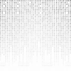 Binary Code On A White Background stock photo 512150240 ...